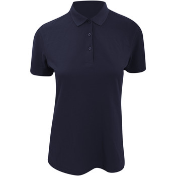 Textiel Dames Polo's korte mouwen Kustom Kit KK213 Marineblauw
