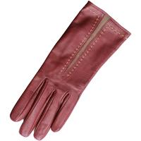 Accessoires Dames Handschoenen Eastern Counties Leather  Taupe/Oxbloed
