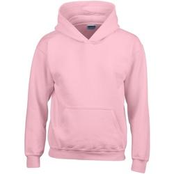 Textiel Kinderen Sweaters / Sweatshirts Gildan 18500B Lichtroze