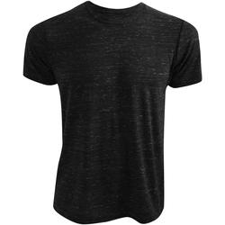 Textiel T-shirts korte mouwen Bella + Canvas CA3650 Zwart Marmer
