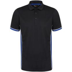 Textiel Heren Polo's korte mouwen Finden & Hales TopCool Marine / Loyaal / Wit