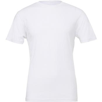 Textiel T-shirts korte mouwen Bella + Canvas CV001 Wit