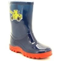 Schoenen Kinderen Regenlaarzen Stormwells  Marineblauw/rood