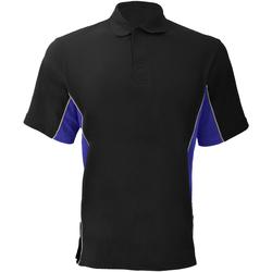 Textiel Heren Polo's korte mouwen Gamegear KK475 Zwart/Royale/Wit