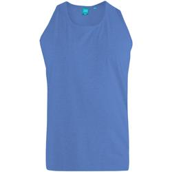 Textiel Heren Mouwloze tops Duke  Blauw