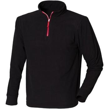 Textiel Heren Fleece Finden & Hales LV570 Zwart/Rood