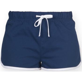 Textiel Kinderen Korte broeken / Bermuda's Skinni Fit SM069 Marine / Wit