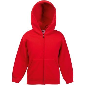 Textiel Kinderen Sweaters / Sweatshirts Fruit Of The Loom SS825 Rood