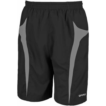 Textiel Heren Korte broeken / Bermuda's Spiro S184X Zwart/Grijs
