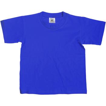Textiel Kinderen T-shirts korte mouwen B And C TK300 Koninklijk