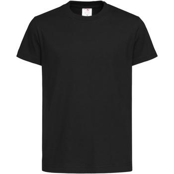 Textiel Kinderen T-shirts korte mouwen Stedman  Zwart Opaal