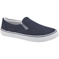 Schoenen Jongens Instappers Dek  Marineblauw