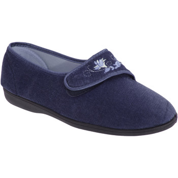 Schoenen Dames Sloffen Sleepers  Marineblauw