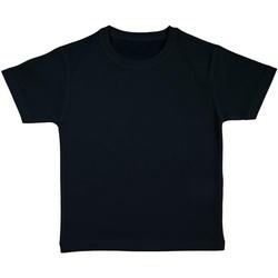 Textiel Meisjes T-shirts korte mouwen Nakedshirt FROG Zwart