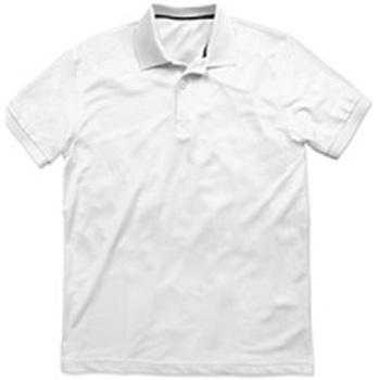 Textiel Heren Polo's korte mouwen Stedman  Wit