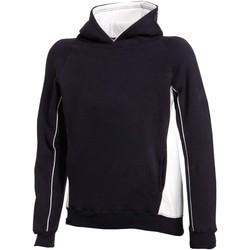 Textiel Kinderen Sweaters / Sweatshirts Finden & Hales LV339 Marine / Wit