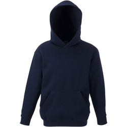 Textiel Kinderen Sweaters / Sweatshirts Fruit Of The Loom 62043 Donker Marine