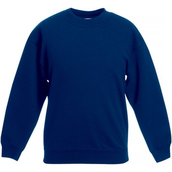 Textiel Kinderen Sweaters / Sweatshirts Fruit Of The Loom SS801 Marine