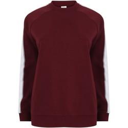 Textiel Sweaters / Sweatshirts Skinni Fit SF523 Bourgogne/Wit