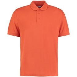 Textiel Heren Polo's korte mouwen Kustom Kit KK403 Gebrande sinaasappel