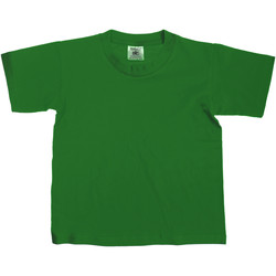 Textiel Kinderen T-shirts korte mouwen B And C TK300 Fles groen