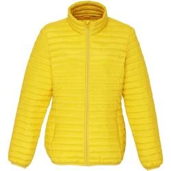 Textiel Dames Dons gevoerde jassen 2786 TS18F Helder geel