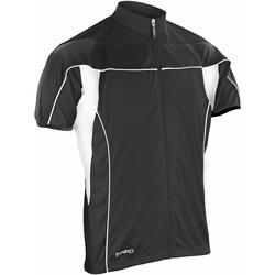Textiel Heren Fleece Spiro S188M Zwart/Zwart