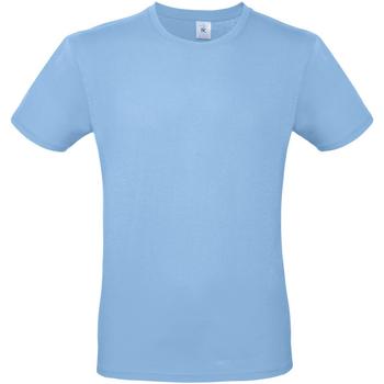 Textiel Heren T-shirts korte mouwen B And C TU01T Hemelsblauw
