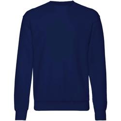 Textiel Kinderen Sweaters / Sweatshirts Fruit Of The Loom  Marine