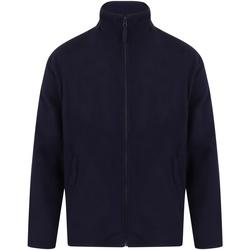 Textiel Heren Fleece Henbury  Marine Oxford