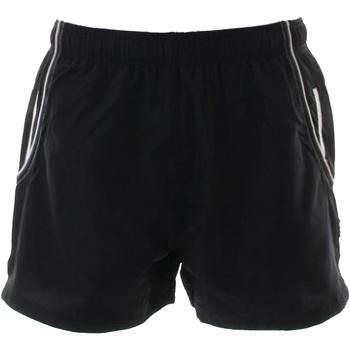 Textiel Heren Korte broeken / Bermuda's Gamegear KK924 Zwart / Wit