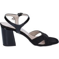 Schoenen Dames Sandalen / Open schoenen Lady Soft sandali camoscio sintetico vernice Nero