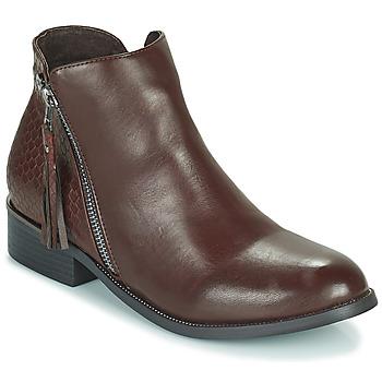 Schoenen Dames Laarzen Xti  Bruin