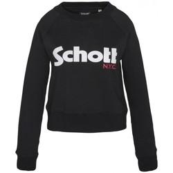 Textiel Dames Sweaters / Sweatshirts Schott Sweatshirt SW GINGER 1 W Noir Zwart