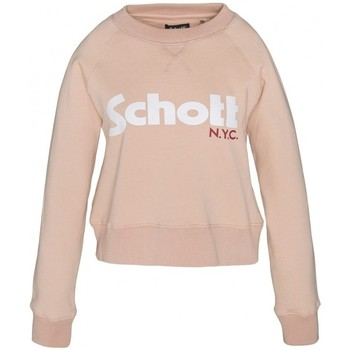 Textiel Dames Sweaters / Sweatshirts Schott Sweatshirt SW GINGER 1 W Blush Roze
