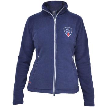 Textiel Dames Fleece Hyrider  Marineblauw/rood