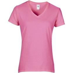 Textiel Dames T-shirts korte mouwen Gildan GD015 Azalea