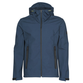Textiel Heren Wind jackets Jack & Jones JCOPEARCE Marine