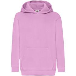Textiel Kinderen Sweaters / Sweatshirts Fruit Of The Loom 62043 Licht Rose
