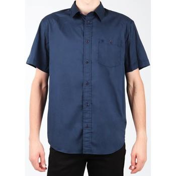 Textiel Heren Overhemden korte mouwen Wrangler S/S 1PT Shirt W58916S35 navy