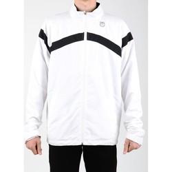 Textiel Heren Trainings jassen K-Swiss Accomplish WVN JCKT 100627-102 white, black
