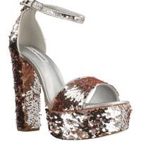 Schoenen Dames Sandalen / Open schoenen Steve Madden GONZO1 Zilver