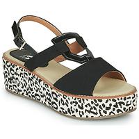 Schoenen Dames Sandalen / Open schoenen Vanessa Wu MIGLOS Zwart