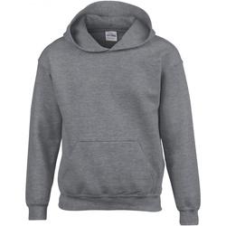 Textiel Kinderen Sweaters / Sweatshirts Gildan 18500B Grafiet Heide