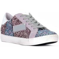 Schoenen Dames Lage sneakers At Go GO GLITTER NEWBIG Bianco
