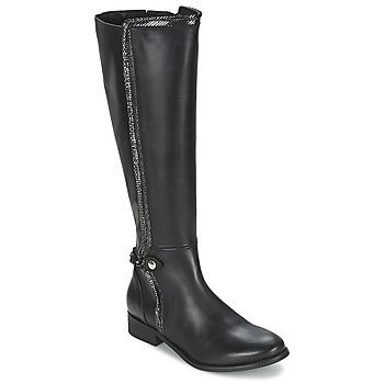 Schoenen Dames Hoge laarzen Regard ROBALO Zwart