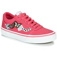 Schoenen Meisjes Lage sneakers Vans WARD Roze