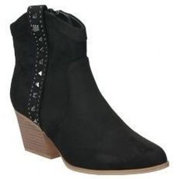 Schoenen Dames Enkellaarzen MTNG 58096 Noir