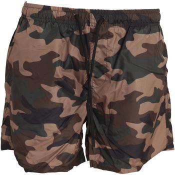 Textiel Heren Zwembroeken/ Zwemshorts Brave Soul  Khaki Camo