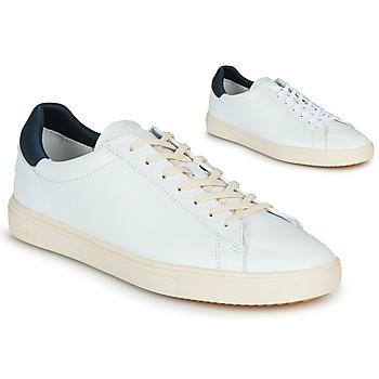 Schoenen Heren Lage sneakers Claé BRADLEY Wit / Blauw